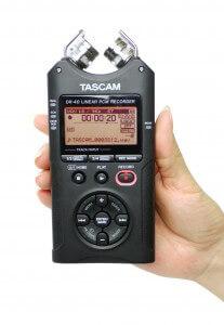 Enregistreur Tascam dr 40