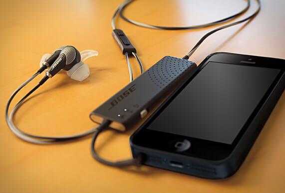 Des écouteurs hors du commun : BOSE QuietComfort 20