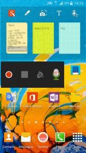 Mon écran Samsung Galaxy est organisé pour être efficace
