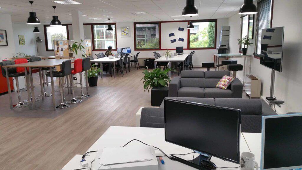 Les locaux de Mon business à 200% à Aix-en-Provence