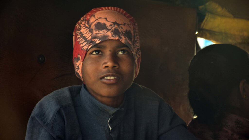 Photo d'un enfant dans un rickshaw, Ranchi - J'adore l'Inde pour la possibilité infinie de photo à faire :)