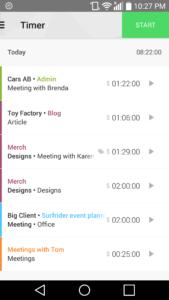 Compter les heures passées par projet avec Toggl