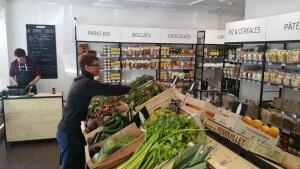 Rayon légumes frais, La bonne épicerie à Marseille